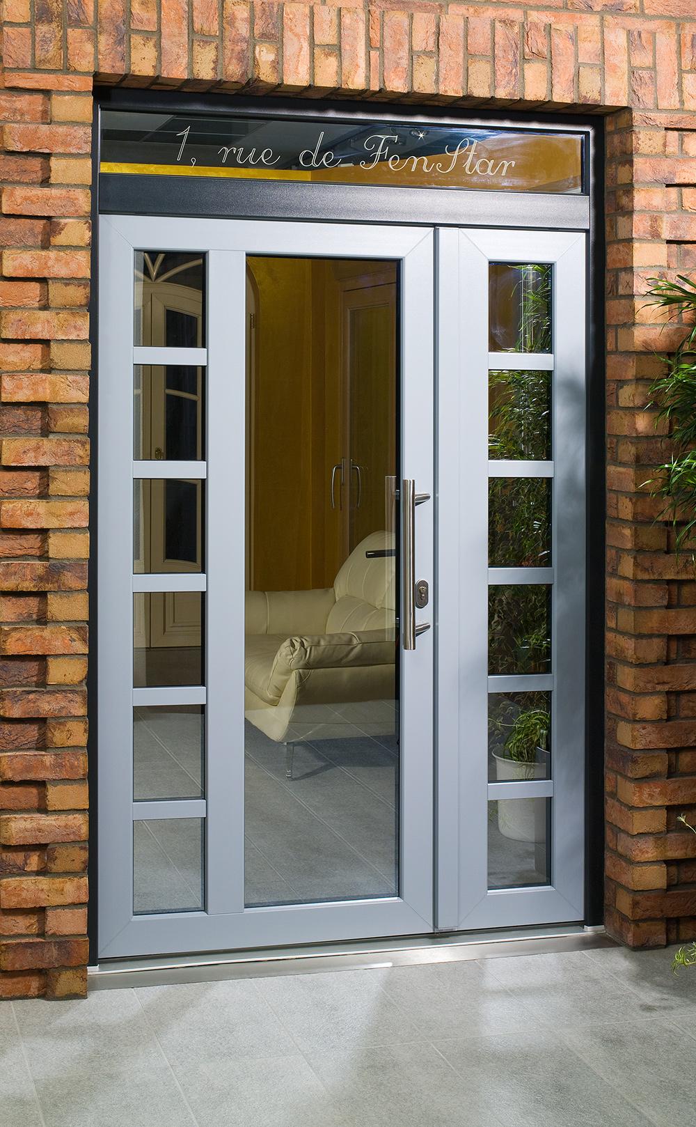 Installation portes d'entrée